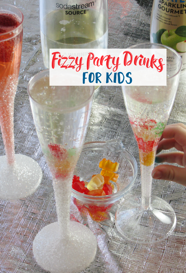 Fizzy Party Drinks for Kids - The Shirley Journey