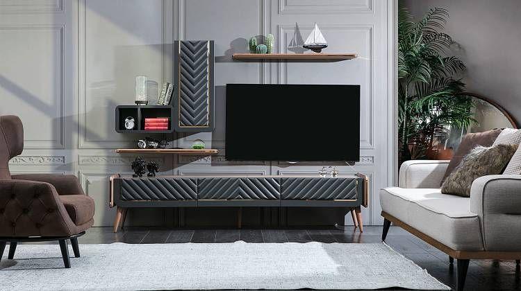 bergamo duvar unitesi 2020 duvar mobilya renkler