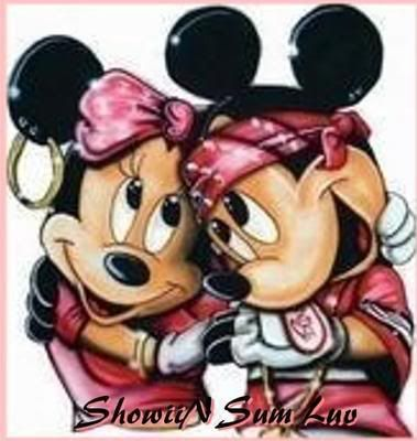 when minnie mouse told mickey that she was a gangster ...