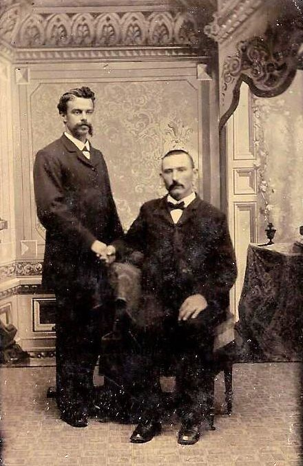 vintage man Gay mustache