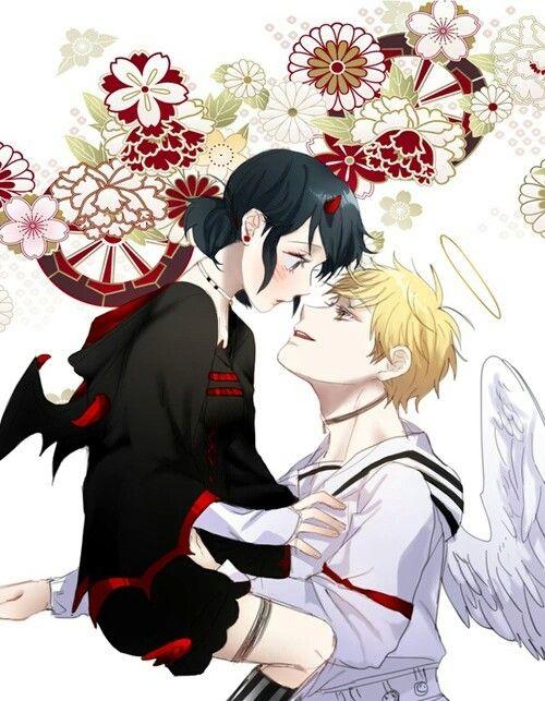 Angel and Demon AU!