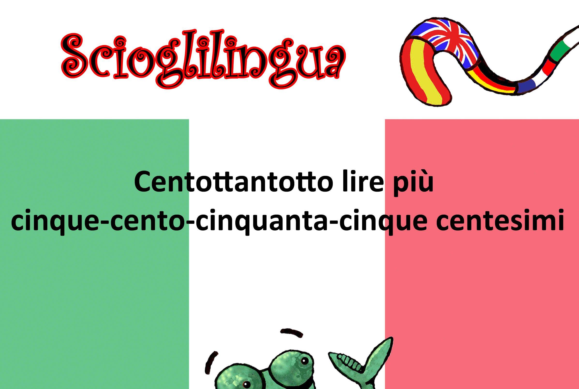 Italian Tongue Twister