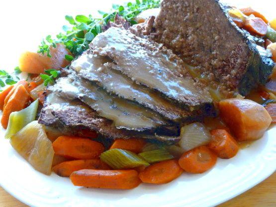 recipe: how to thicken pot roast gravy in crock pot [8]