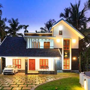bedroom modern truss roof home design in sqft kanjirappally free kerala also budget typical traditional for lakhs rh pinterest