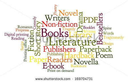 Books Word Cloud Frequent Words Related To Books Major Forms And