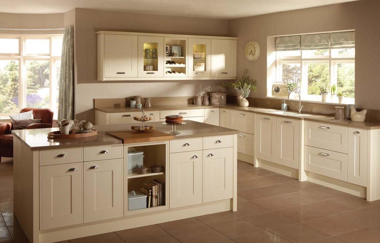 Painted White Shaker Kitchen Cabinets Bingewatchshows Com Beige Kitchen Shaker Style Kitchen Cabinets White Shaker Kitchen