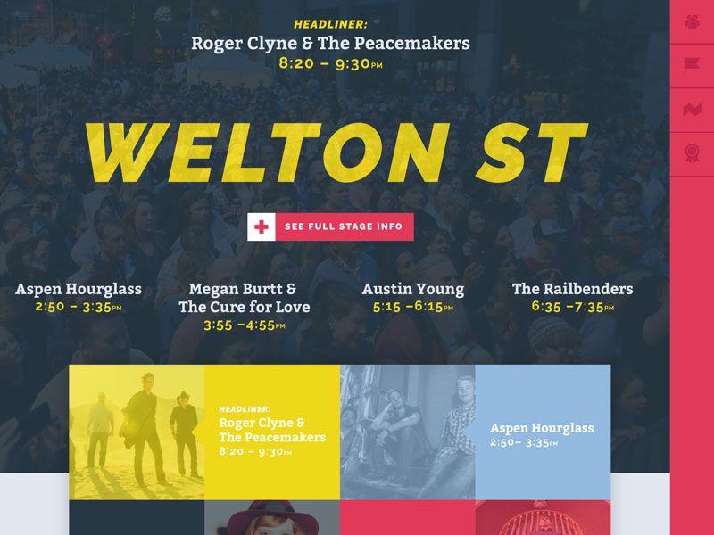 Music Festival Website