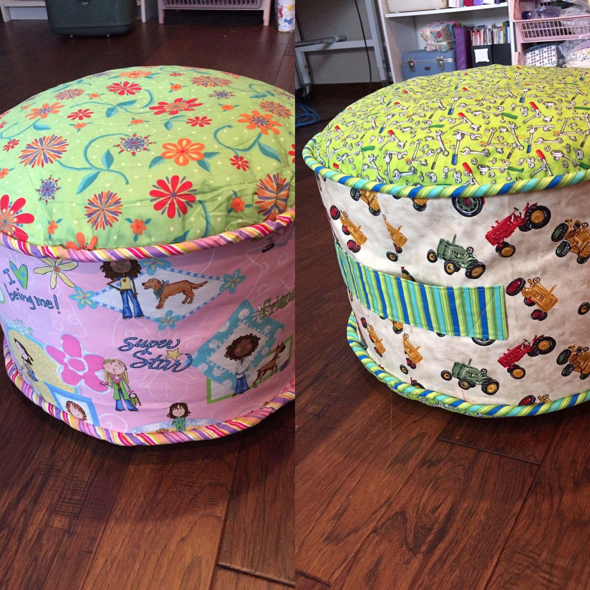 Fun Cushions With Styrofoam Beads