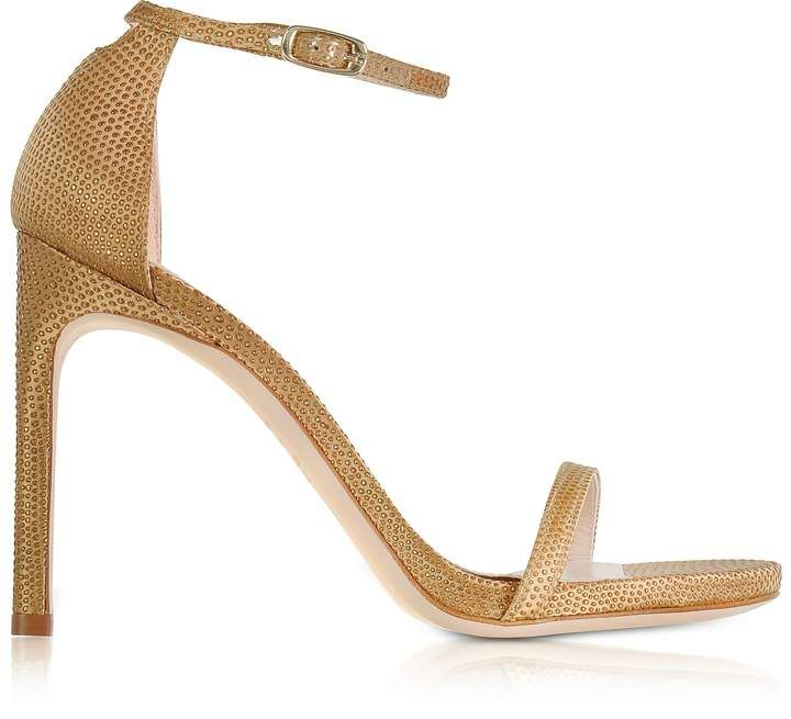 Stuart Weitzman Shoes, Nudistsong Crystaline High Heel Sandals