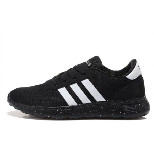 108a8b5b0ca41e Buy Adidas Neo Lite Racer Womens Running Shoes On Black And White ...