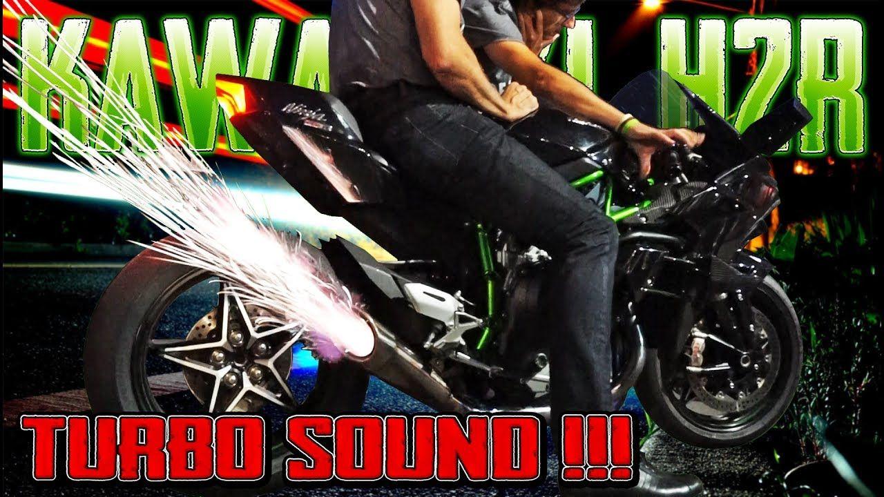 KAWASAKI NINJA H2R SOUND !!! ASI SUENA UNA MOTO TURBO DE 310 CV !!!