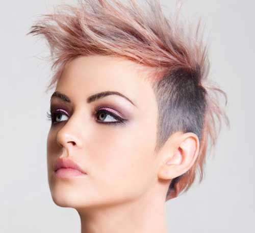 Short Punk Hairstyles 20 Best Punky Short Haircuts  Short Haircuts Haircuts And Short Hair