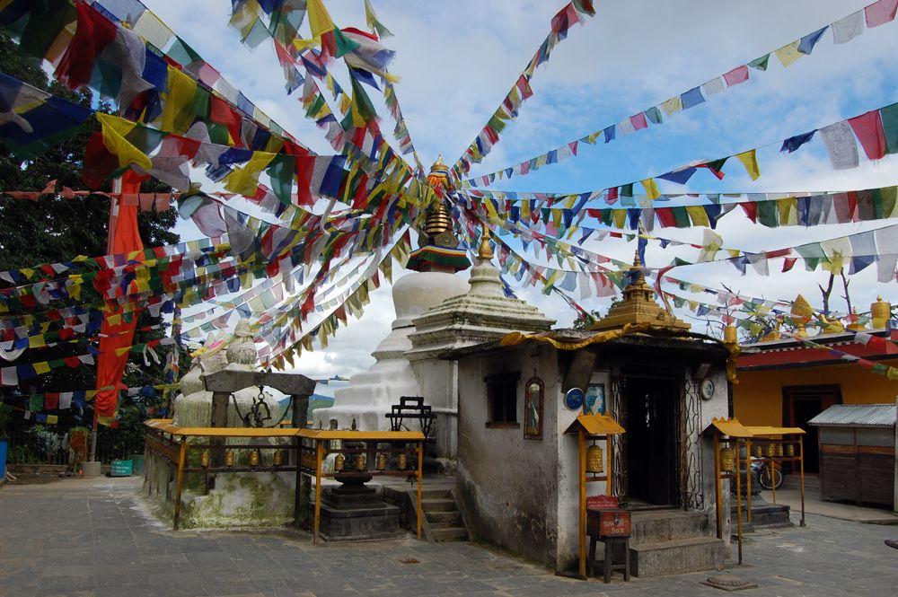 Namo Buddha--at the base of the hill