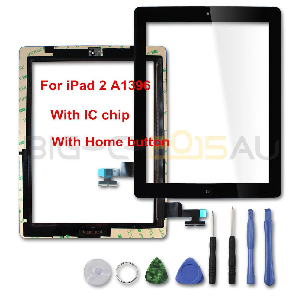 For iPad 2 A1396 Touch Screen Glass Lens Digitizer