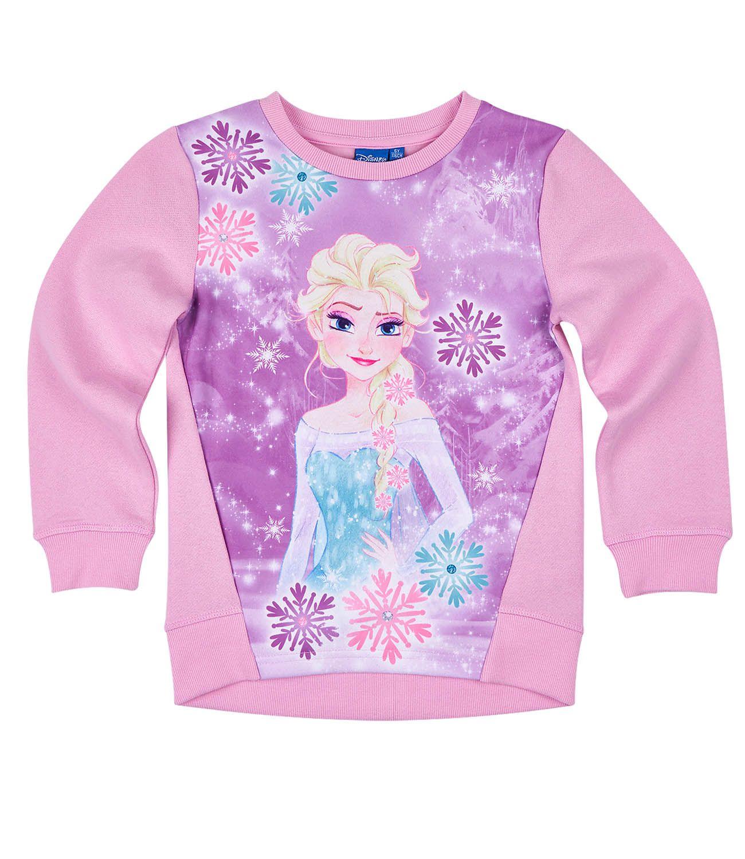 DISNEY Die Eiskönigin mit Elsa Sweatshirt Pullover für