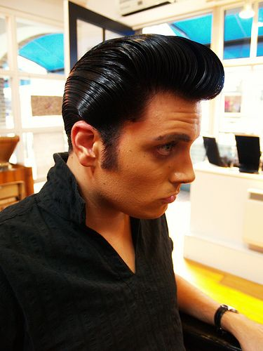 The Ducktail Hairstyle For Men