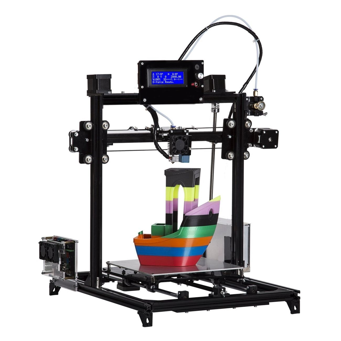 FLSUN® Prusa i3 DIY Desktop 3D Printer Kit 200x200x220mm