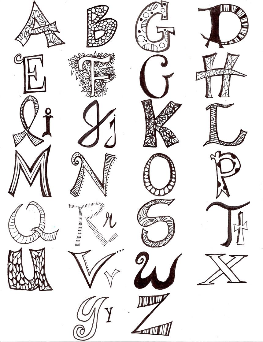 Fancy Letters Copy And Paste Cute Large Mismatched Letters