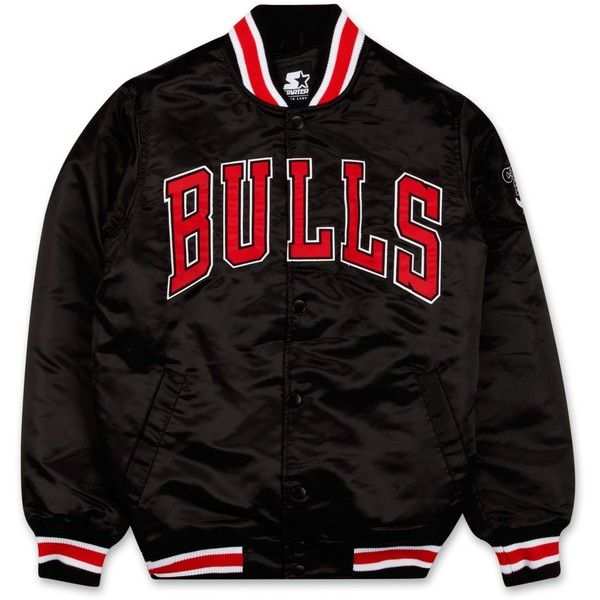 dc4c70b1e Starter Black Label Chicago Bulls Arch Satin Jacket | DTLR.com ($100 ...
