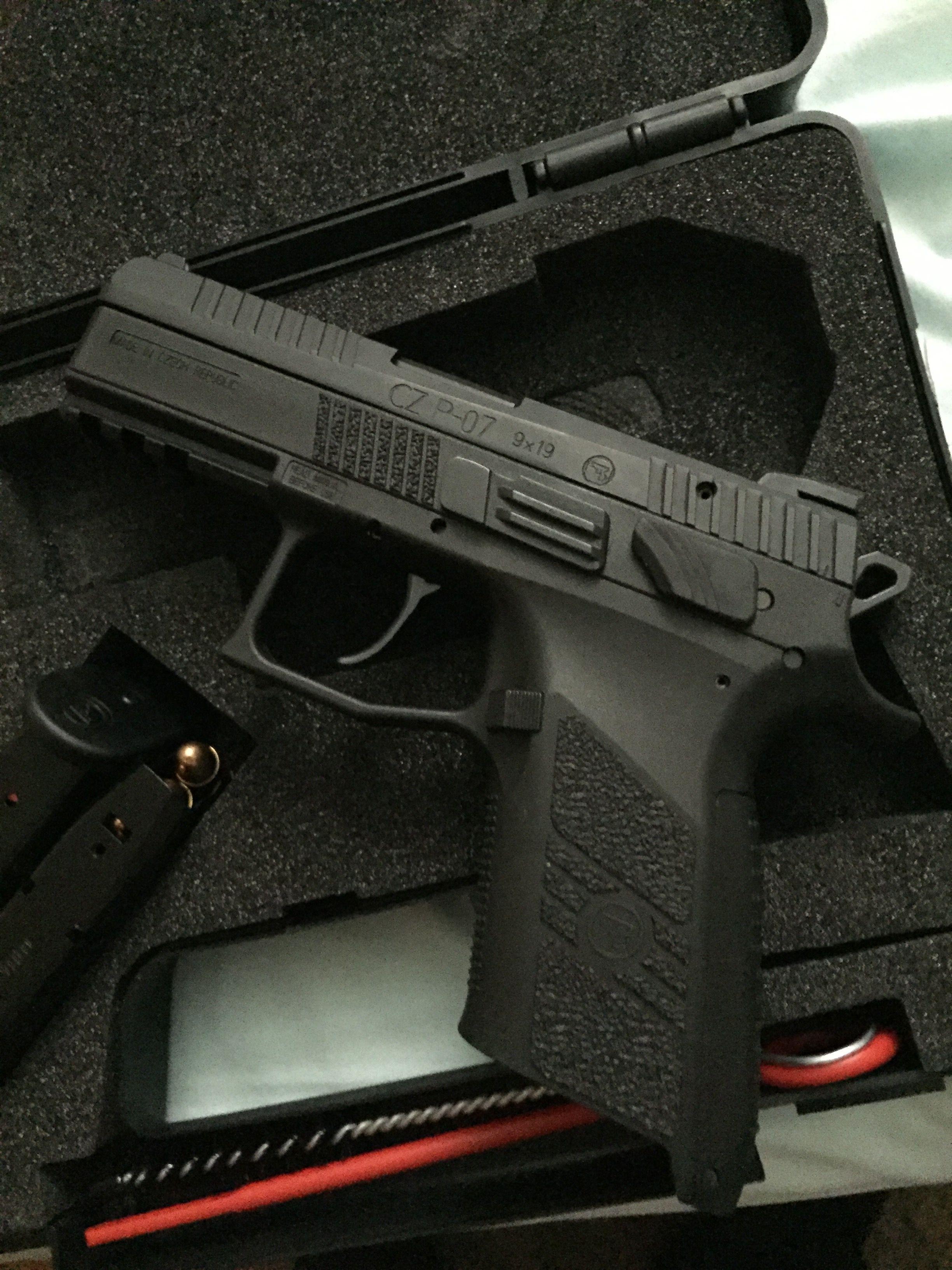 CZ p07 gen 2  9mm | Shooting | Guns, Firearms, Hand guns