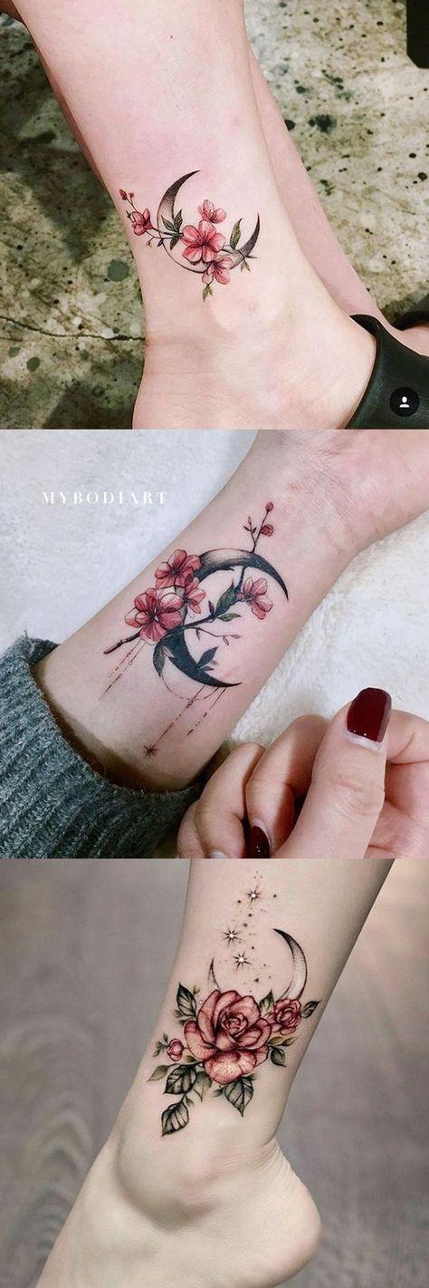 30 Delicate Flower Tattoo Ideas