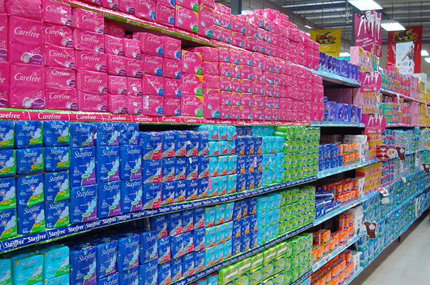 A new report highlights the presence of toxins in feminine hygiene products and the lack of regulation for these products.