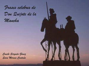 Frases Celebres Del Quijote Frases Frases Celebres Y