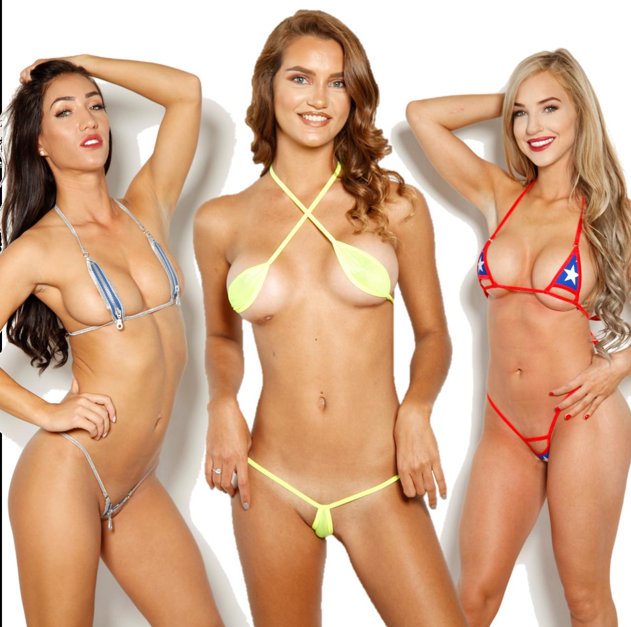 Pregnant stars in bikinis