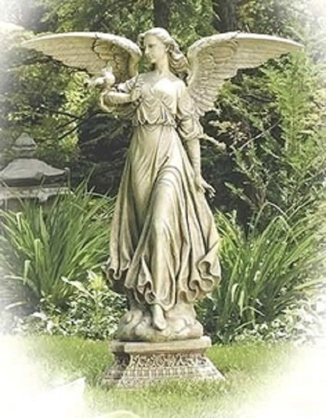 Exotic And Unique Collection Of Large Garden Statues: Large Angel Statues ~  Latricedesigns.com Gardening Inspiration