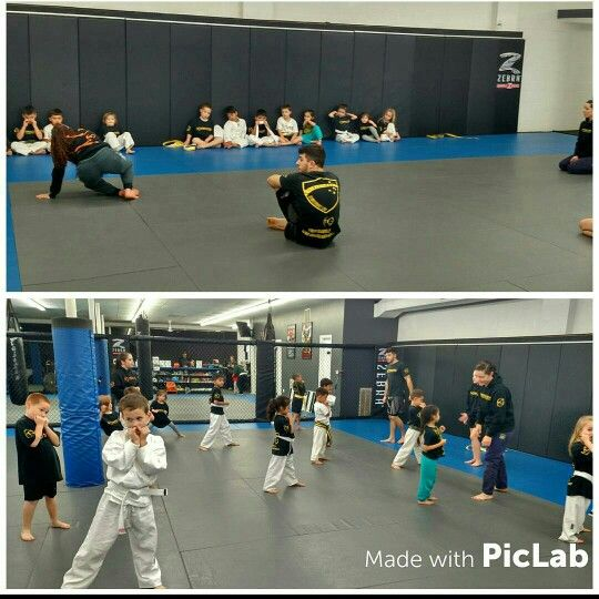 Our 4-7 kids training some grappling and striking.  #bjjkidsct #kidsmmact # ultimatemma #karatect ultimatemmact.com
