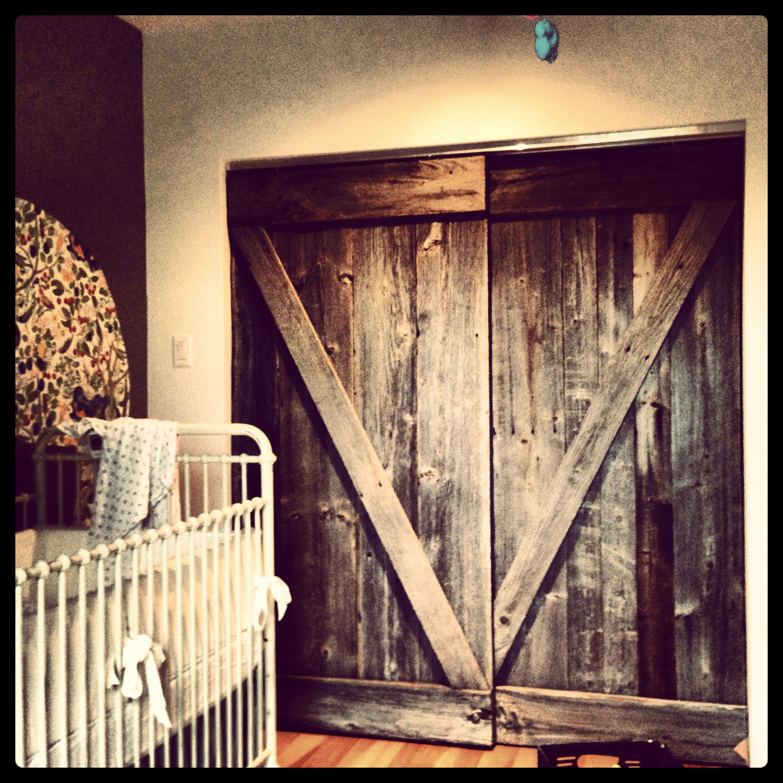 Madison Barn Door Coffee Table