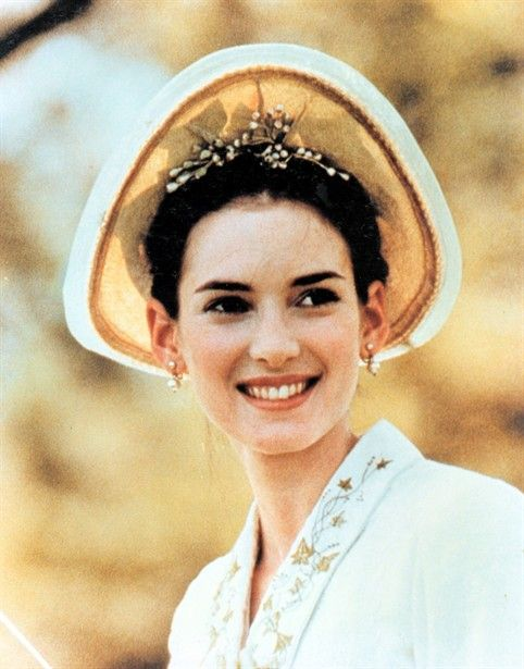 Winona Ryder as May Welland in The Age of Innocence (1993). Period and costume drama.