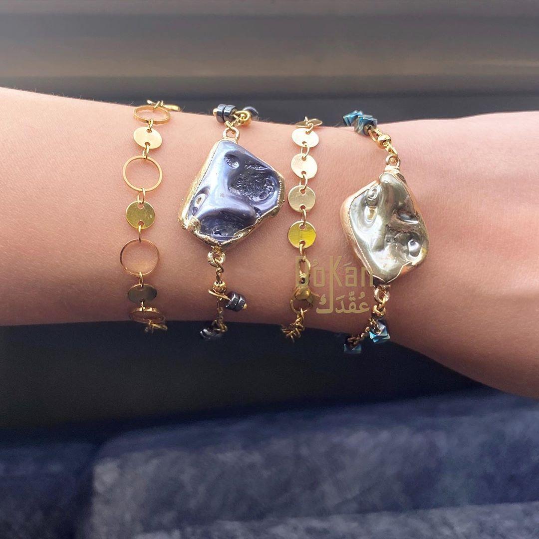 Dokan 3o2dk By G R On Instagram Earthstones Bracelets Charm Bracelet Heart Charm Bracelet Infinity Bracelet