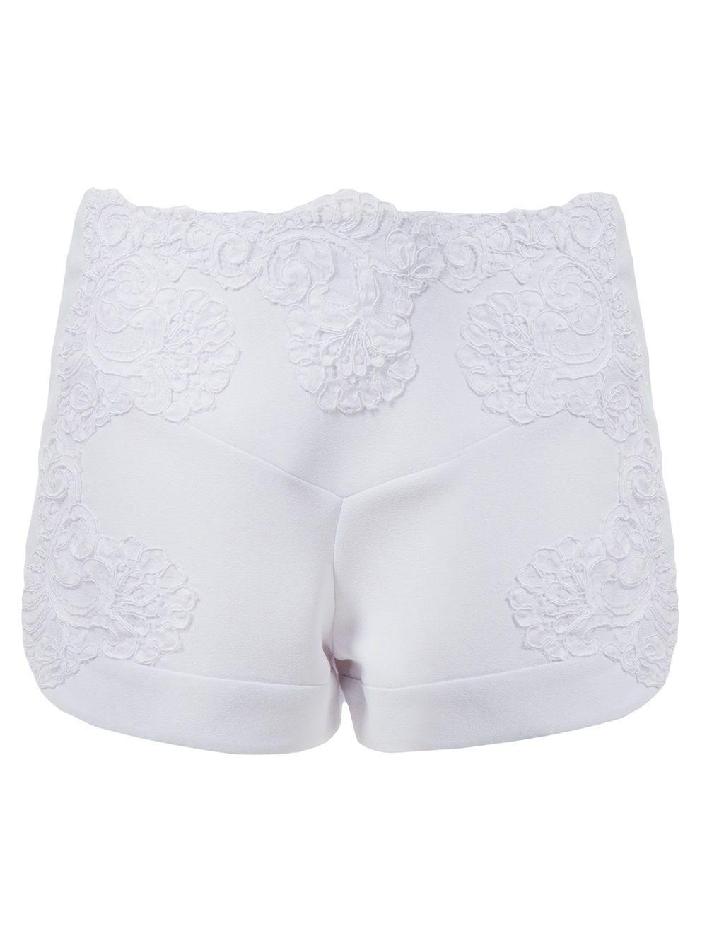 Martha Medeiros Shorts Branco