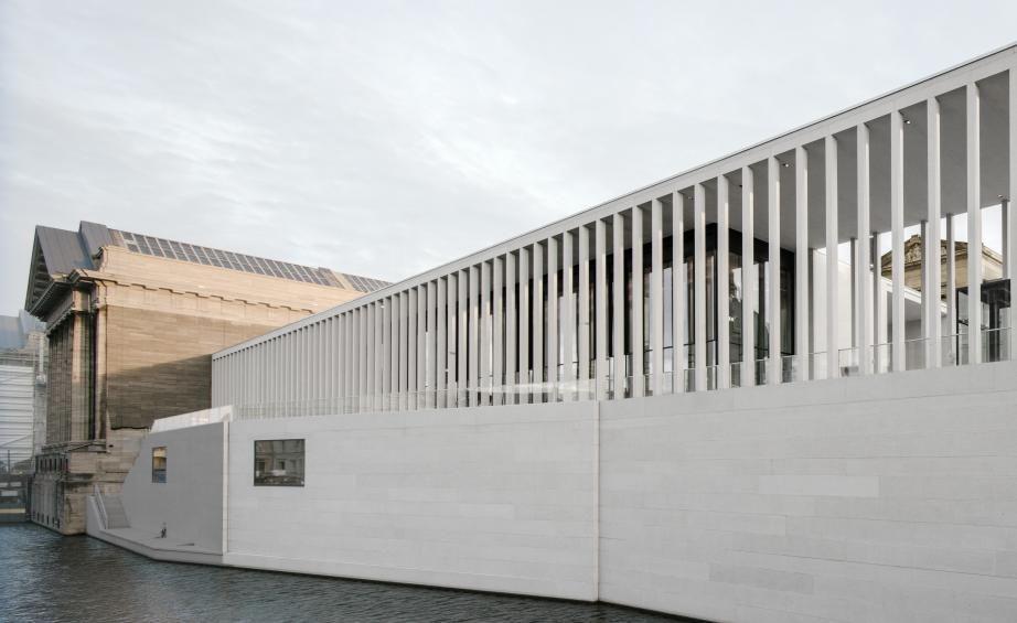 David Chipperfield S James Simon Galerie Opens In Berlin David Chipperfield Architects Architecture Architect