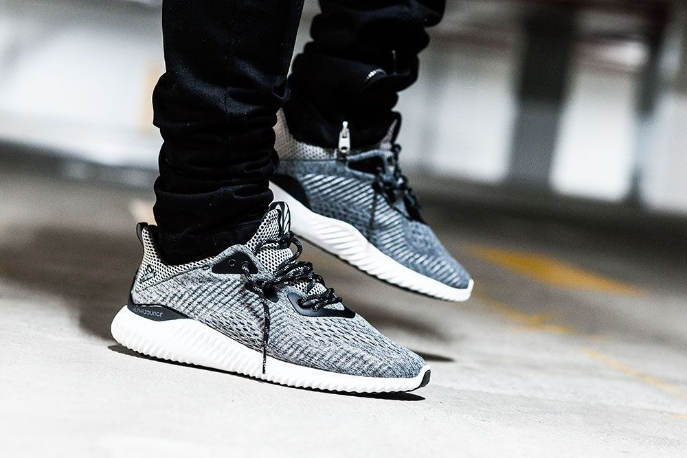 newest 1878b e8865 Adidas AlphaBOUNCE Grey Sneakers
