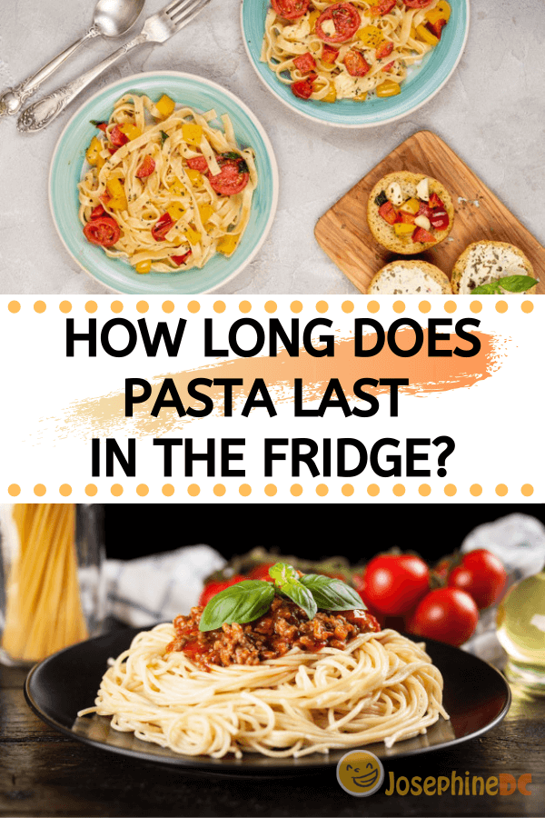 how long does pasta last in the fridge? i see that you've