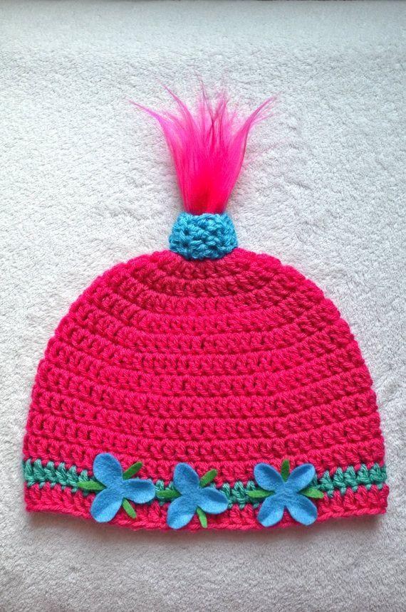 RESERVED for Brandy | Princess Poppy Inspired Hat, Princess Troll ...