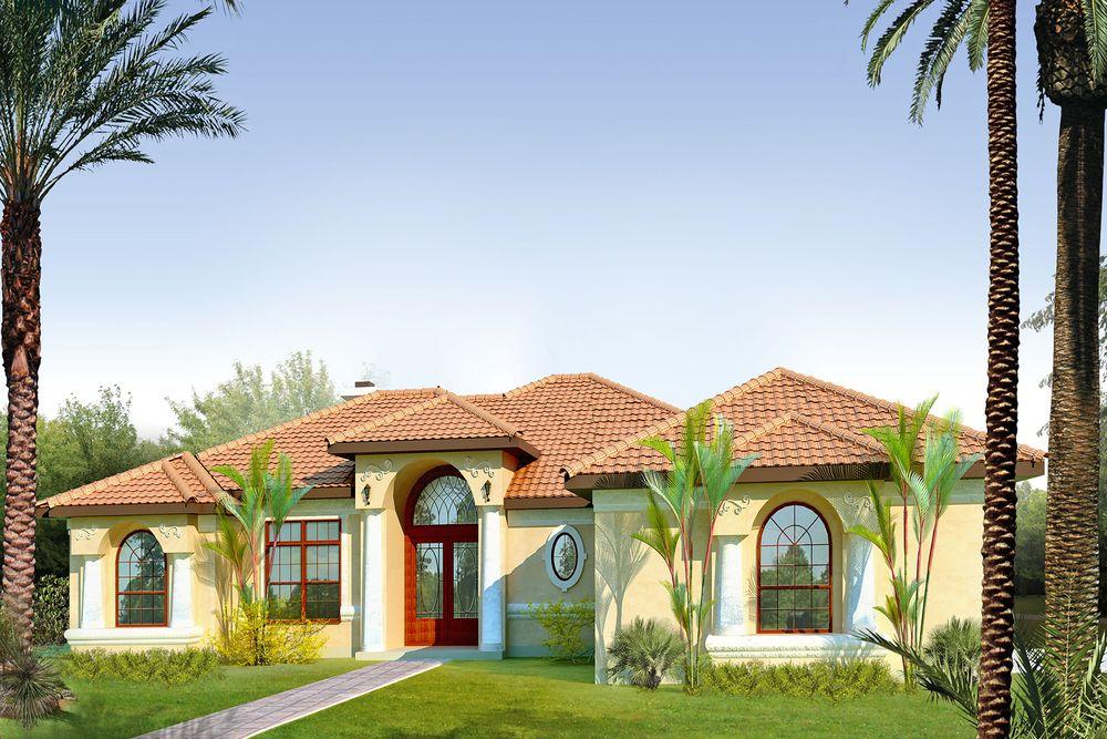 Hajek Associates Mediterranean Style House Plans Spanish Style Homes Mediterranean House Plans