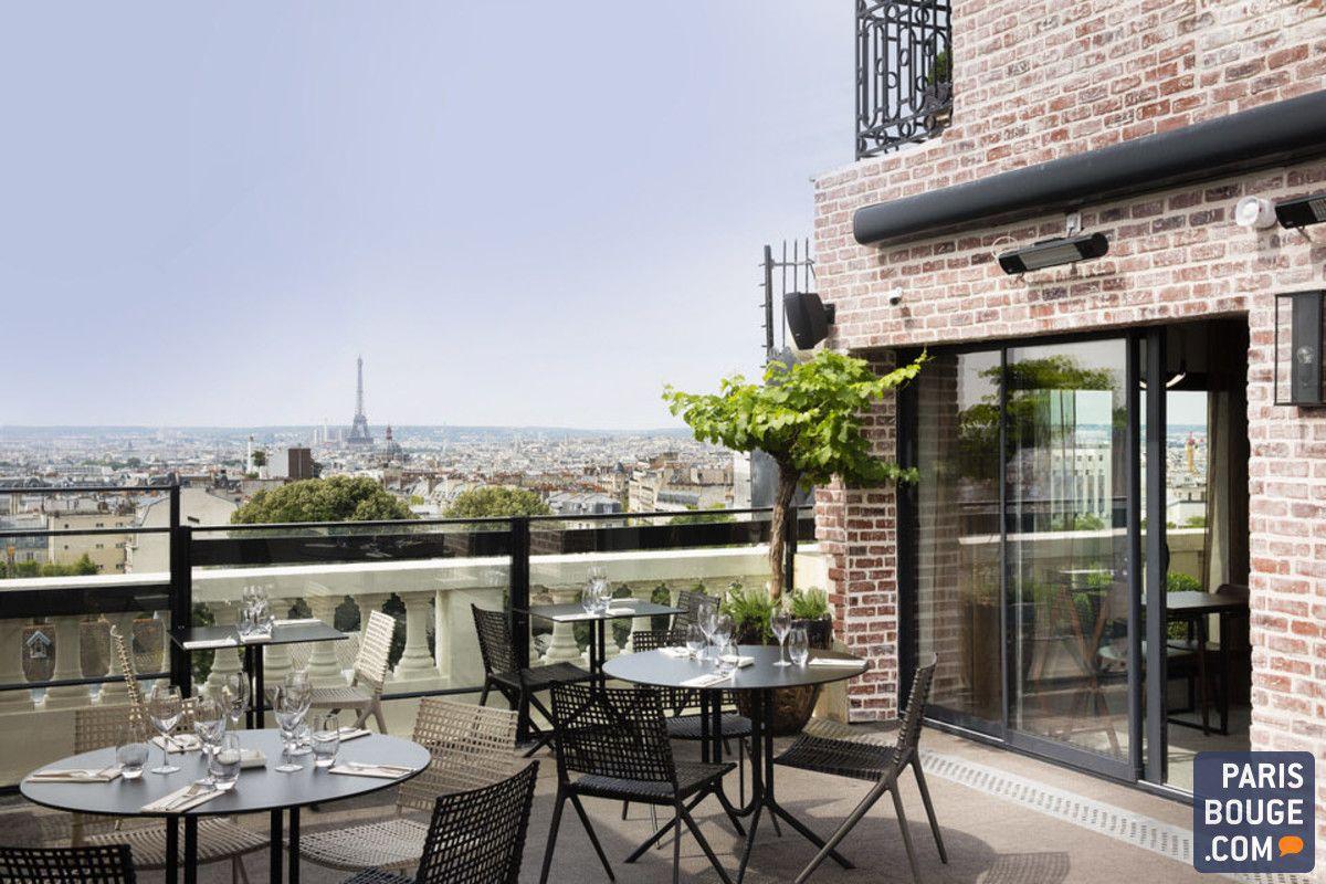 Les rooftops à Paris ne courent pas les toits. Pourtant
