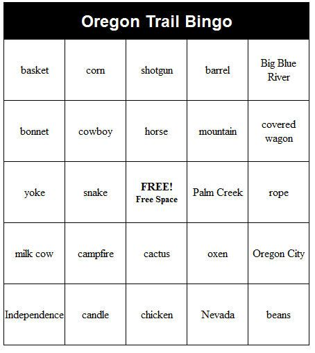 yay found this site where you can generate custom bingo cards