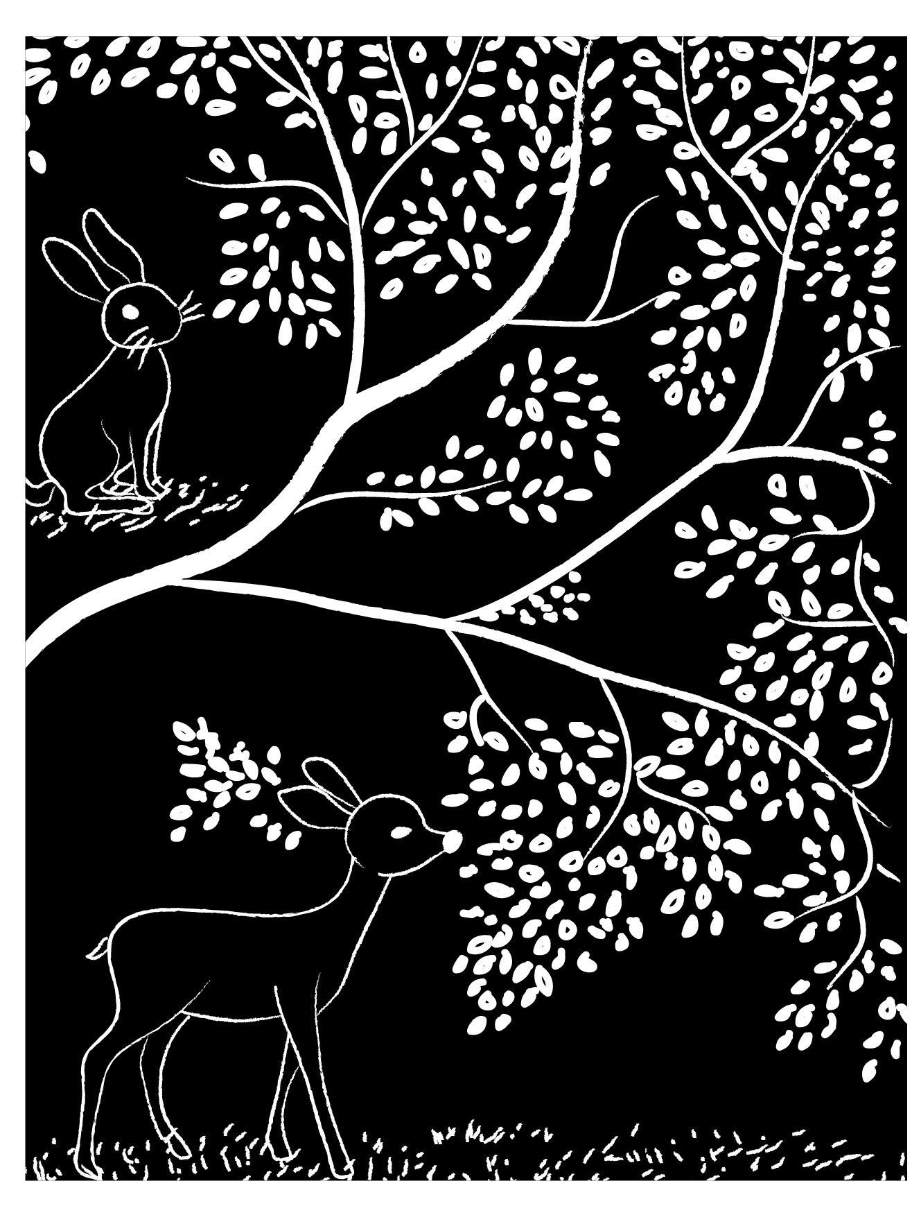 coloriage adulte gratuit disney bambi