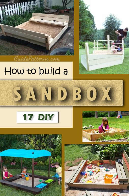 17 DIY Sandbox Plans