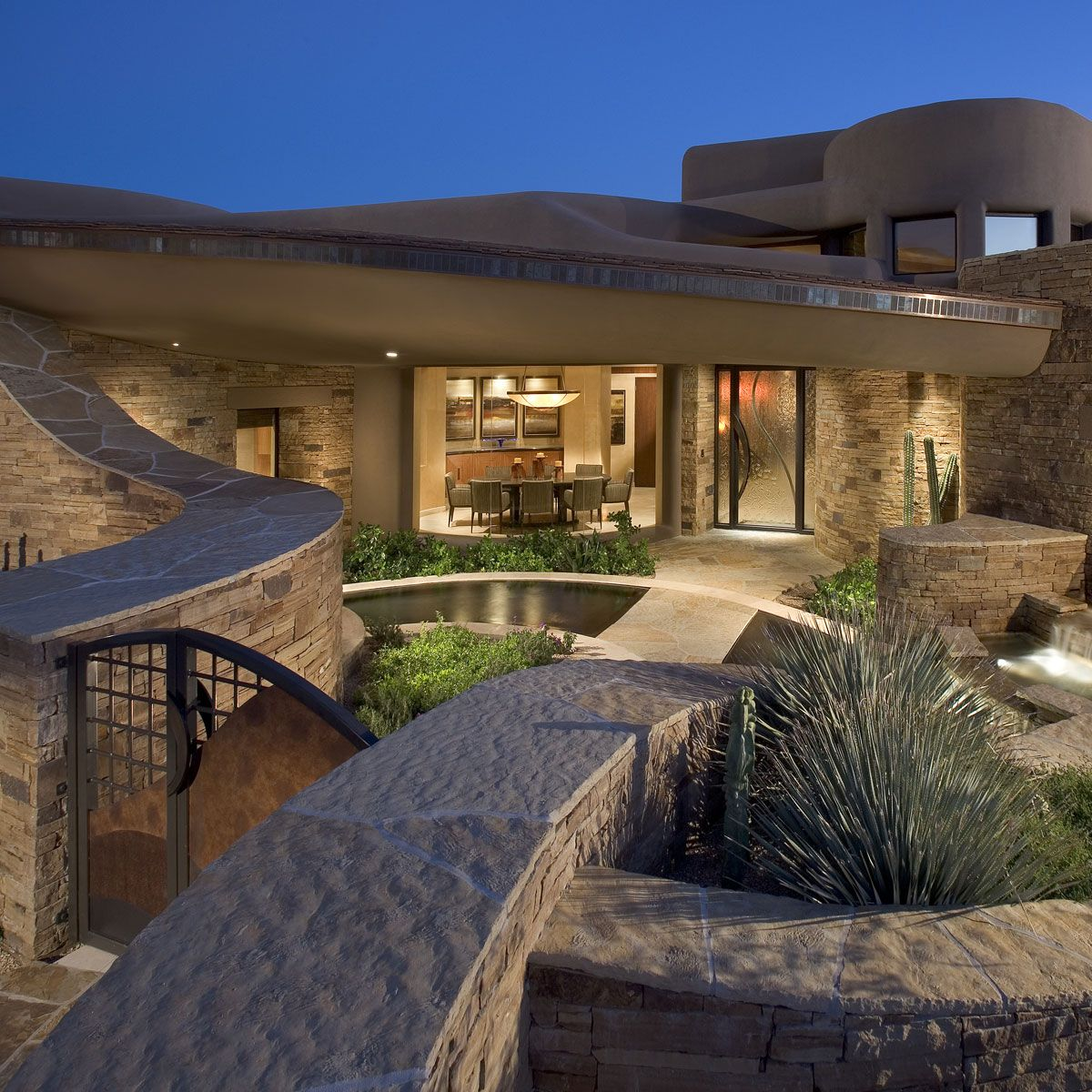 Pin By Kelly Henderson On Arizona House Modern Style House Plans