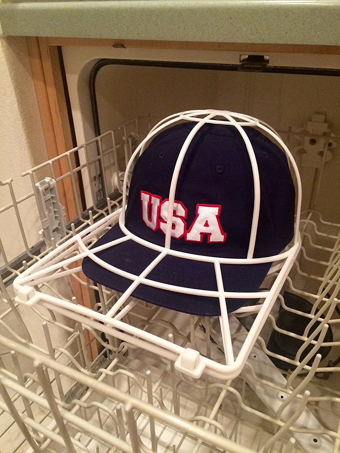 9 Amazon Com Baseball Cap Washer Great Hat Cleaner And Ball Cap Hat Washer Clean Your Entire Collection From Your Cap Organizer Cap Holder How To Clean Hats
