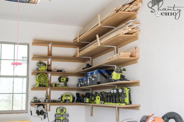 38 ideas para organizar tu garaje que son prácticamente geniales