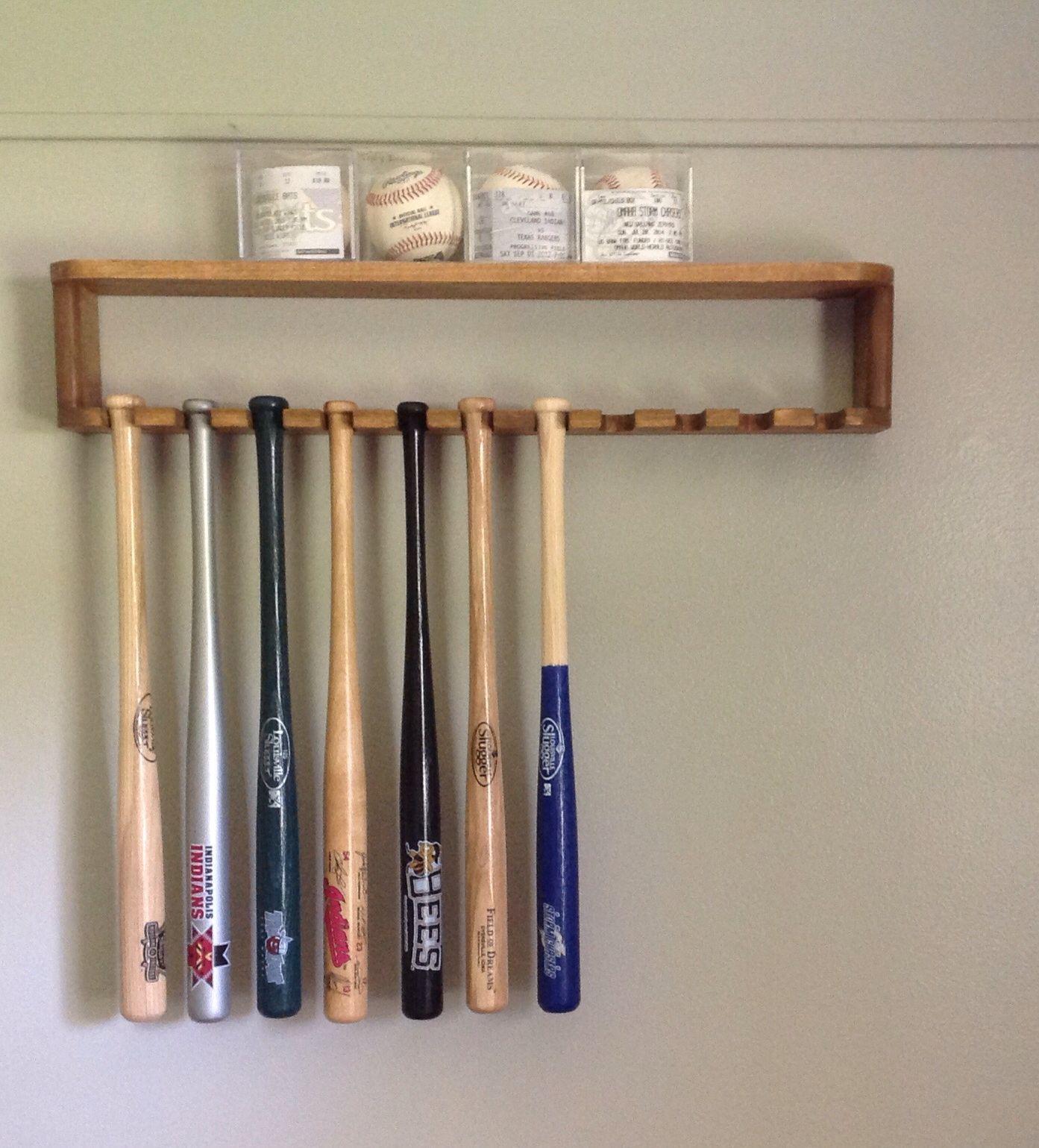 Diy Mini Bat Rack Crochet Game Baseball Room Boy Room
