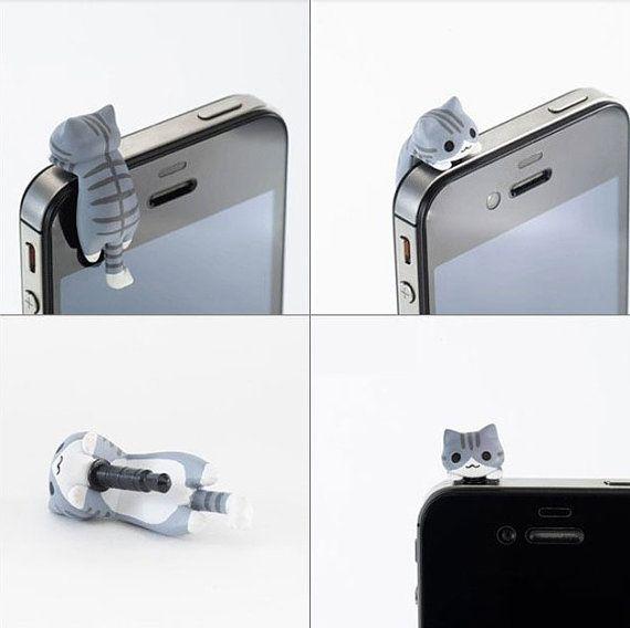 Gatito en el móvil :-)