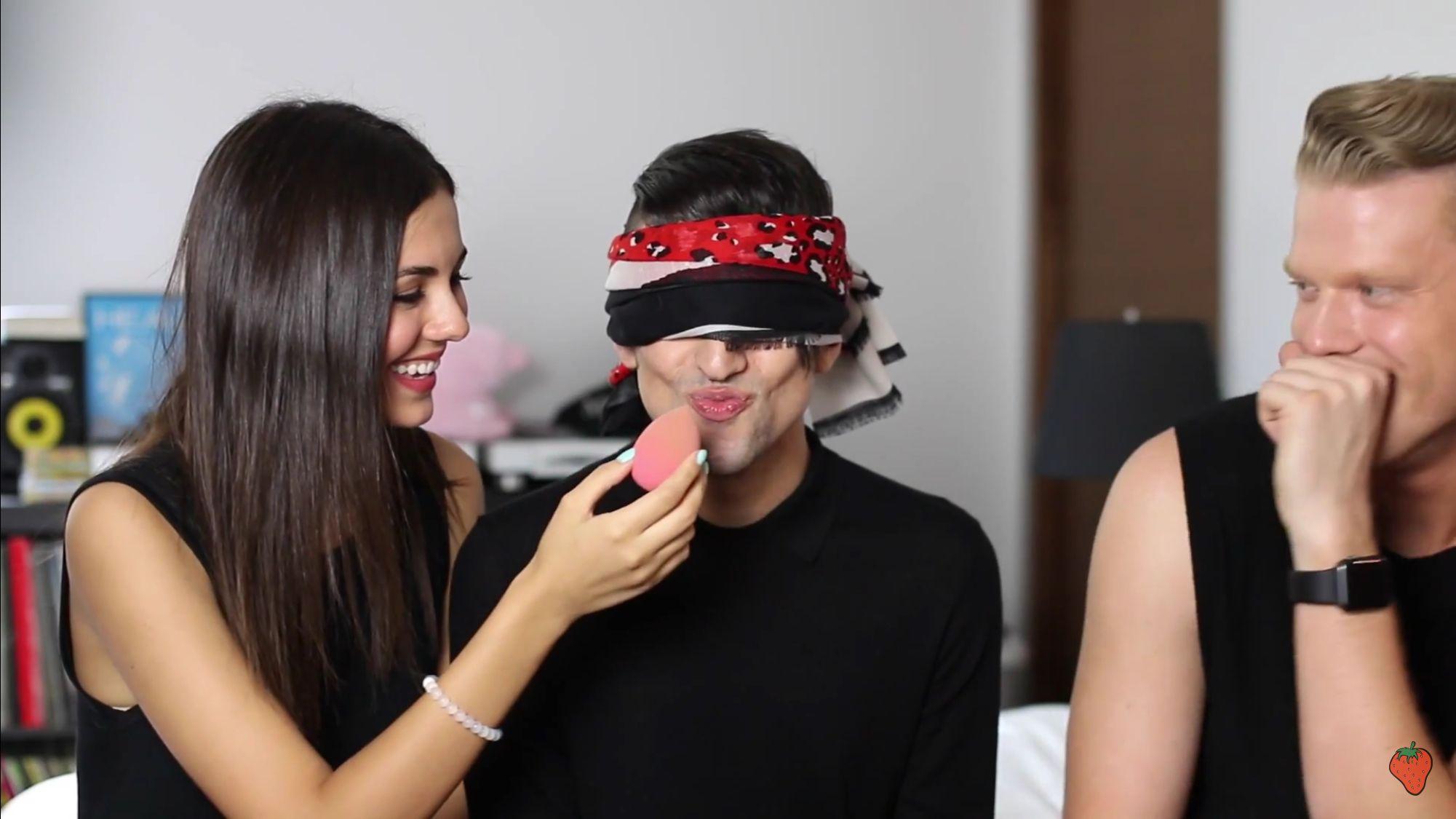 Superfruit: What am I Kissing (beauty blender)