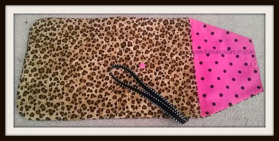 Cheetah and Hot Pink Diaper Clutch  Free by LilyBeanCouture, $11.00  Find me on FB www.facebook.com/lilybeancouturedesigns